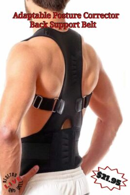 Adaptable Posture Corrector Back Support Belt
