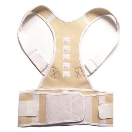 posture corrector back support belt nude