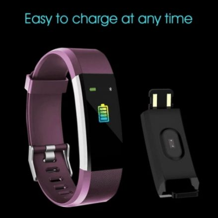 Easy to charge this fitness tracker