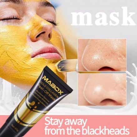 Gold collagen mask 3