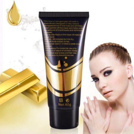 Gold collagen mask 4